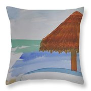 Baja Throw Pillow