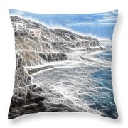 Baja Norte Throw Pillow