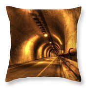 Baker Barry Tunnel Throw Pillow