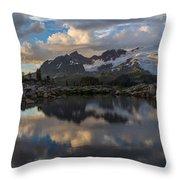 Baker Dusk Cloudscape Throw Pillow