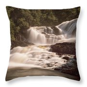 Bakers Brook Falls Throw Pillow