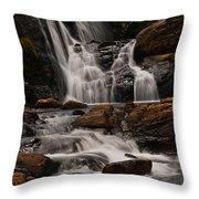 Bakers Fall. Horton Plains National Park. Sri Lanka Throw Pillow