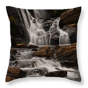 Bakers Fall. Horton Plains National Park. Sri Lanka Throw Pillow