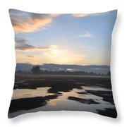 Bakersfield Sunrise Throw Pillow