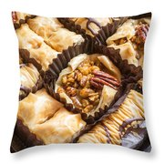 Baklava Desert Throw Pillow