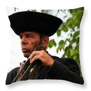 Bakod Puszta Horseman Throw Pillow