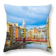 Balamory Spain Throw Pillow