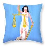 Balance And Money Throw Pillow