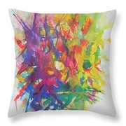 Balance Brings Happiness Throw Pillow