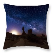 Balance Throw Pillow by Dustin  LeFevre