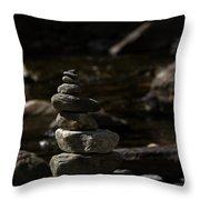Balance In Nature Throw Pillow