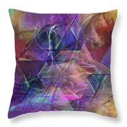 Balanced Dynamic - Square Version Throw Pillow