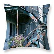 Balcony 1 Throw Pillow