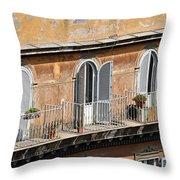 Balcony Throw Pillow