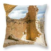Balcony House 2 Throw Pillow