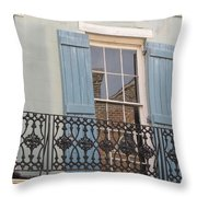 Balcony II Throw Pillow