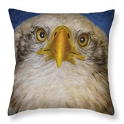 Bald Eagle 4 Throw Pillow