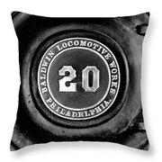 Baldwin 20 - Bw Throw Pillow