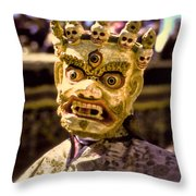 Bali Dancer 1 Throw Pillow