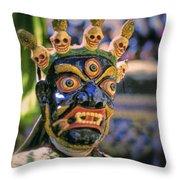 Bali Dancer 2 Throw Pillow