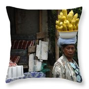 Bali Indonesia Proud People 2 Throw Pillow