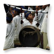 Bali Indonesia Proud People 4 Throw Pillow