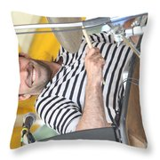 Balkan Beat Box Throw Pillow