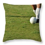 Ball Control Throw Pillow