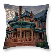 Ball Eddleman Mcfarland House Throw Pillow