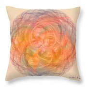 Ball Of Calm Throw Pillow