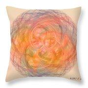 Ball Of Calm Throw Pillow by Elizabeth S Zulauf