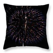 Ball Of Fire Throw Pillow