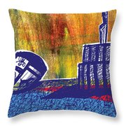 Ballcrestboxbird Throw Pillow