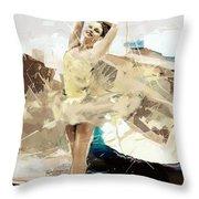 Ballerina 34 Throw Pillow