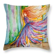 Ballerina Curtain Call Throw Pillow