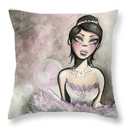 Ballerina Dreams Throw Pillow