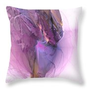 Ballerina - Marucii Throw Pillow