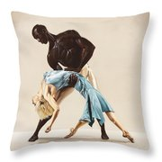 Ballet 1  Throw Pillow
