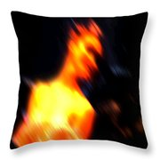 Ballet Blur 3 Throw Pillow