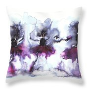 Ballet Dancers Throw Pillow