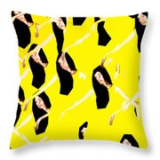 Ballet Dancers Throw Pillow