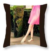 Ballet Point Throw Pillow