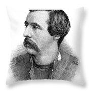 Ballington Booth (1865-1948) Throw Pillow