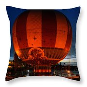 The Great Balloon Throw Pillow