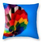 Balloon Colors Throw Pillow