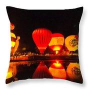 Balloon Fest 2 Throw Pillow