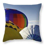 Balloon Pillows Throw Pillow