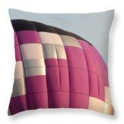 Balloon-purple-7457 Throw Pillow