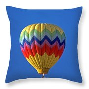 Balloon Ride Throw Pillow