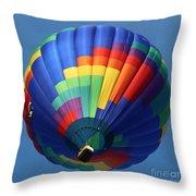 Balloon Square 2 Throw Pillow